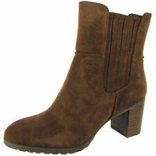 High (3 in. and Up) Suede Medium (B, M) Pull On Boots for Women