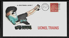 Lionel 360E Locomotive & Pin Up Girl Featured on Collector's Envelope *A266