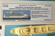 MODEL KIT cruise ship FREEDOM OF THE SEAS - class, liner, resin 1:1250, Scherbak