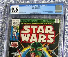 Star Wars #1 CGC 9.6 Movie Adaption 1977 1st Print 30 Cent Newsstand Edition