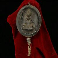 Collection Old Tibet Tibetan style Handmade Living Buddha Amulet Pendant