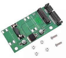 """Mini PCIE PCI-e MSATA SSD to 2.5"""" SATA Port Adapter Converter Card 22Pin Module"""