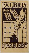 Rytir Vaclav 1912 Exlibris Bookplate 85