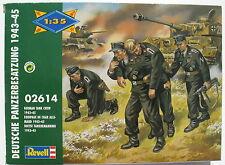 Revell 02614 - Deutsche Panzerbesatzung Tank Crew - 1:35 - Soldaten Figuren WW2