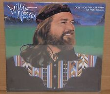 Willie Nelson Don't You Ever Get Tired Of Hurting Me SEALED NEW vinyl LP cut out
