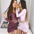 Sexy Summer Women Bandage Bodycon Pencil Party Skirt Clubwear Short Mini Dress