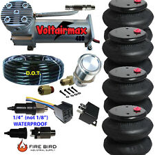 480C Air Compressor Ride Kit 200psi rate all pictured 4  2600 Airspring bags