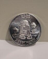 Star Wars POTF R2-D2 Rebel Droid Pop-Up Lightsaber 1984 Vintage Coin