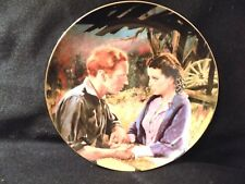"""GONE WITH THE WIND COLLECTORS PLATE """" AFTER THE WAR"""""""