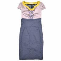 Boden Damen Kleid Dress Casual Gr.36 Freizeit Mehrfarbig 87938