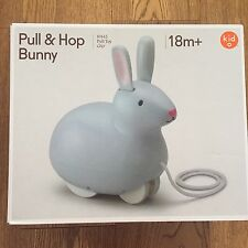 GREAT GIZMOS KIDO PULL AND  HOP BUNNY TOY RABBIT KID TOY