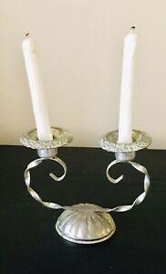 Vintage Silver Plated Candelabra - Candle Holder - 1950's