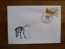 SLOVENIA 2017 FOSSILS- LIONS FDC FIRST DAY COVER