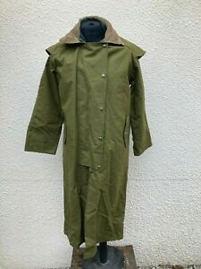 "Swanndri NZ Full Length Hooded Bushman's Stockmans Weatherproof Coat 44"" Chest"