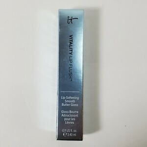 It Cosmetics Vitality flush Butter Lip Gloss NEWS ANCHOR BLUE~New~Full Size! NIB