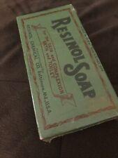 Rare Find Resinol Soap Resinol Chemical Co New Sealed In Original Packaging