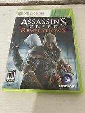 Assassin's Creed: Revelations (Microsoft Xbox 360, 2011) Game, Case, Manual