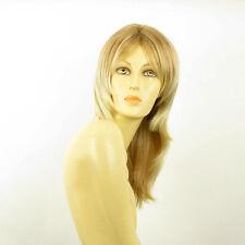 Parrucca donna semi lunga  biondo chiaro mechato biondo medio : elea 27t613