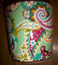 "Vera Bradley Pretty Flower Pot ""Tutti Frutti  NEW W Tag"