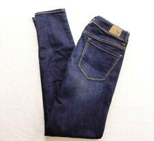 New American Eagle Womens Sz 0 X 29 Reg Super Skinny Dark Denim Jeans