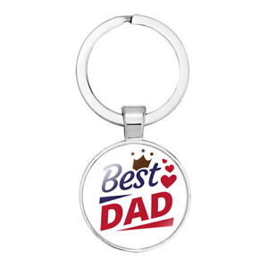 Best Dad Keyring. Great Gift Idea For Fathers Day, Christmas, Birthday