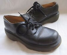 Vintage Mens 1980s Doc Martens Shoes Boots Air Wair Leather Made England Combat