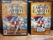 Empire Earth 2 PC CD-ROM with booklet