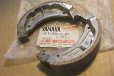 YAMAHA TY80  YZ50  YZ60  YZ80  PW80  GENUINE NOS BRAKE SHOE SET - # 451-W2535-00