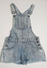 Girls Candy Couture Short Denim Dungareees 10-11 Years Matalan