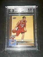 2009-10 Upper Deck #196 STEPHEN CURRY First Edition Gold Rookie RC BGS 8.5 w/10!