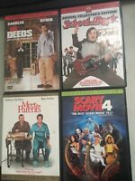 LOT 4 DVD'S SCHOOL OF ROCK,MEET THE PARENTS, SCARY MOVIE 4, MR DEEDS COLLECTORS