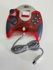 NEW Clear Red Mad Catz Controller Control Dream pad for Sega Dreamcast