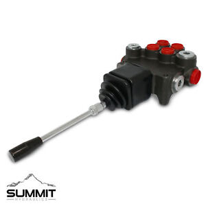 Hydraulic Directional Control Valve for Tractor Loader w/ Joystick, 2 Spool, 21