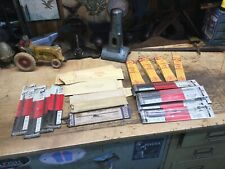 Vintage Lot Of Scrool Saw Blades Rockwell, Delta, Olson Woodworking Tools