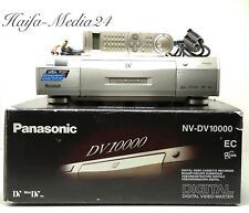 JVC nv-dv10000 haut de gamme DV -/MiniDV recorder enregistreur + FB BDA NEUF dans sa boîte 1 an élargie.