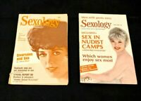 Vintage 1960s Sexology Magazine (set of 2), Sept 1966, April 1969