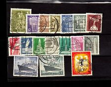 Germany Stamps 1955 -56 Year , Cv 80 Euro , Used