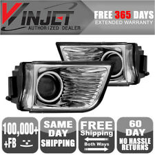 Fits 03-05 Toyota 4Runner OE Fog Lights Clear Lamps Left Right Pair LH RH