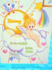 JanLynn Sunshine Cherubs Birth Announcement Cross Stitch Kit Terrie Steinmeyer