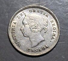 CANADA 1880 H 5 Cents  FREE SHIPPING   A242