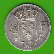France 1/4 Franc 1829 K VERY NICE RARE nswleipzig