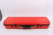 New Full Size Violin Carbon Composite Case 4/4 Strong High Strength Red #B9