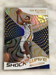 2020-21 Panini Revolution Zion Williamson SHOCK WAVE