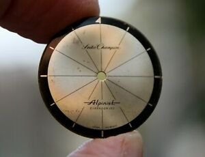 Original Seiko Champion Alpinist rare Japan vintage watch dial in good condition