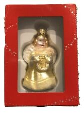 Macy's Holiday Lane Glass Christmas Ornament - Angel New in Box 2013