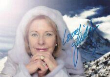 ABBA / Signed Photo / Anni-Frid (Frida) Lyngstad / Sweden