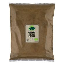 Organic Thyme Powder - Ground -  2kg Certified Organic