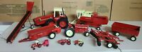Vintage Ertl International Diecast Collection (11) Pieces 1:16 to 1:64 Scale