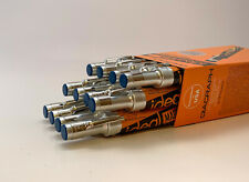 New Ideal Mark Valve Action Marking Pen Marker Blue 12ct