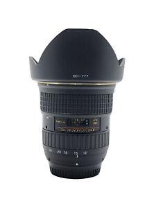 【MINT BOX】 Tokina AT-X Pro SD 12-24 mm F/4 IF DX II lens For Nikon
